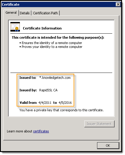040711 0615 OnGeneratin3 On Generating an SSL Wildcard Certificate CSR